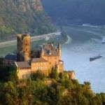 Learning German language, image of Rhine River